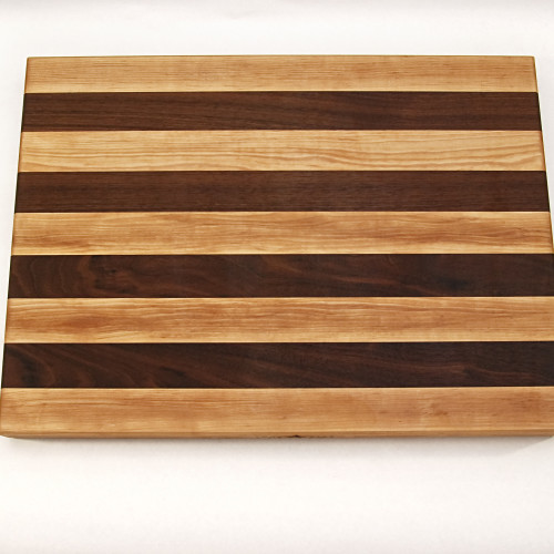 Walnut Maple Stripes Large 3